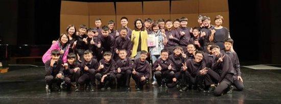 狂賀!!!本校參加107學年度全國音樂比賽 男聲合唱團 榮獲 「唯一特優(第一名)」!